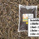 10 kg ≙ 15,4 L HORSIT engrais biologique de pellets de fumier de cheval , engrais universel Premium NPK engrais naturel engrais longue durée de fumier de cheval 100% biologique - homologué pour l'agriculture biologique (sachet 10 kg) de la marque Horsit image 4 produit