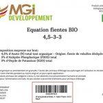 25 kg de granulés de fumier / fientes de poules biologiques -engrais certifié biologique - idéal pour fertiliser le jardin - Permet d'enrichir le terreau - made in France - 4,5-3-3 de la marque MGI DEVELOPPEMENT image 2 produit