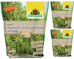 3x 1,75kg Neudorff Azet Engrais pour bambou NPK 9–3de 5organique de la marque Neudorff image 0 produit