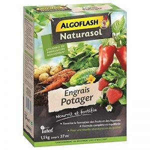 ALGOFLASH NATURASOL APOTBIO15 Engrais Potager Vert 18.3 x 6.4 x 22 cm 1,5 kg de la marque ALGOFLASH NATURASOL image 0 produit