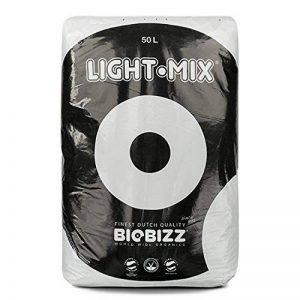 BioBizz 02-075-100 Light-Mix Sac Terreau Mélange d'Empotage Léger, Transparent, 50 L de la marque BIOBIZZ image 0 produit