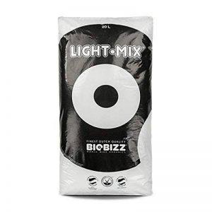 BioBizz 02-075-105 Light-Mix Sac Terreau Mélange d'Empotage Léger, Transparent, 20 L de la marque BIOBIZZ image 0 produit