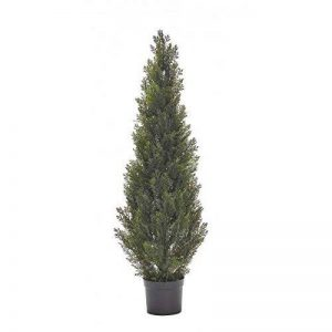 Cèdre artificiel, 79 branches avec aiguilles, vert, traité anti UV, 120 cm - arbre artificiel / cyprès artificiel - artplants de la marque artplants image 0 produit