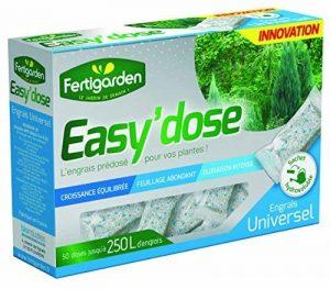 Engrais Easy'dose Universel - Tomates - Fraisiers - Plantes aromatiques - Potager Balcon - 50 sachets monodoses hydrosolubles de la marque Fertigarden image 0 produit