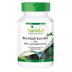 Extrait de Brocoli avec DIM et Sulforaphane - 90 comprimés végans - contient au moins 0,3% de sulforaphane et 100mg de DIM par comprimé de la marque fairvital image 0 produit