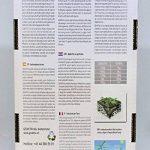 GeAktiv Engrais bio Humus, pour le jardin, fleurs, plantes, herbes, fruits, légumes, raisin, cannabis plantes. + 35% une meilleure qualité de récolte. 3L de la marque GeAktiv image 1 produit