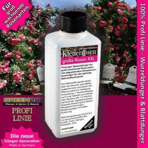 GREEN24 L'escalade et randonnée roses, fleurs roses Feed–Engrais liquide Hightech NPK, Racine, du sol, engrais, engrais foliaire–Professional de la marque GREEN24 image 0 produit