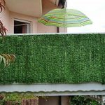 Haie artificielle/brise vue pr balcon, aspect sapin, 300x150cm de la marque Mendler image 2 produit