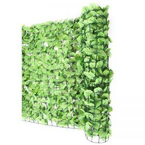Haie artificielle/brise vue pr balcon, feuilles, 300x100cm de la marque Mendler image 0 produit