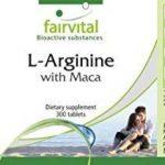 L-Arginine avec Maca - 300 comprimés - Combinaison puissante de Maca et L-Arginine avec du béta-glucane, de l'OPC et du Zinc de la marque fairvital image 4 produit