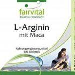 L-Arginine avec Maca - 300 comprimés - Combinaison puissante de Maca et L-Arginine avec du béta-glucane, de l'OPC et du Zinc de la marque fairvital image 3 produit