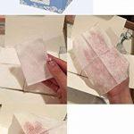 [Lapin Blanc] Premium Coton Pad (Uni type 200pcs + perforé Lot de type 200) authentique 100% bio Cotton-unbleached et non traité Cultivé gratuit de pesticides et engrais chimiques de la marque White Rabbit image 3 produit