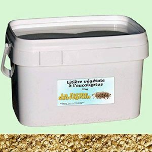 Litière végétale à l'eucalyptus - 4 kg de la marque La Ferme Sauvegrain image 0 produit