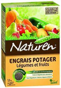 NATUREN 8390 Engrais Potager Légumes et Fruits Granulés 1,5kg de la marque NATUREN image 0 produit