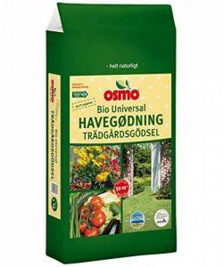 Osmo® Universel Bio Engrais de jardin 6–5–7+ 3% MG, Sac de 5kg de la marque OSMO image 0 produit