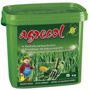 Premium Engrais pour gazon avec herbicide, 5kg, jusqu'à 250M2 de la marque Agrecol image 0 produit