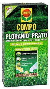 RASEN FLORANID engrais pour gazon avec action herbicide DANS UN PACK DE 3 KG de la marque Compo image 0 produit