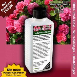 Roses Pro universel Engrais liquide Hightech NPK, Racine, du sol, engrais, engrais foliaire–Professional de la marque GREEN24 image 0 produit