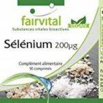 Sélénium 200µg à base de levure de sélénium organique, naturel, végan, 90 comprimés, flacon avantageux, approvisionnement de 3 mois de la marque fairvital image 6 produit