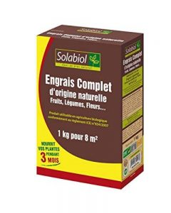 Solabiol SOCONAT1 Engrais Complet, Marron, 1 kg de la marque Solabiol image 0 produit