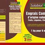 Solabiol SOCONAT1 Engrais Complet, Marron, 1 kg de la marque Solabiol image 2 produit