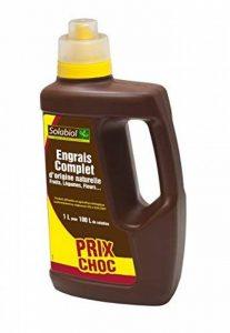 Solabiol SOLICOMP1 Engrais Complet Liquide 1L Prix Choc, Marron, 1 L de la marque Solabiol image 0 produit