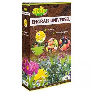 Star Jardin 08144 Engrais Universel en Granulés Marron 1 kg de la marque Star jardin image 0 produit