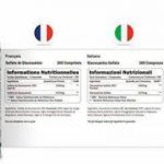 Sulfate de Glucosamine 1,500 mg 2KCl, 365 Comprimés (Approvisionnement pour 1 An)   Haute Puissance   Fabriqué au Royaume-Uni par Nu U Nutrition de la marque Nu U image 1 produit
