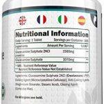 Sulfate de Glucosamine 1,500 mg 2KCl, 365 Comprimés (Approvisionnement pour 1 An)   Haute Puissance   Fabriqué au Royaume-Uni par Nu U Nutrition de la marque Nu U image 3 produit