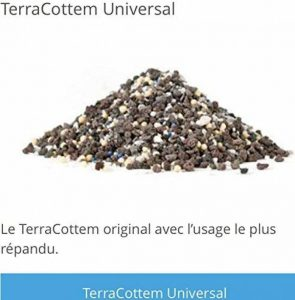 TerraCottem® 500g hydrorétenteur bio n1 en Belgique et Espagne fertilisant et engrais écologique activateur de racine à base de roche volcanique de la marque Hydroplant bio image 0 produit