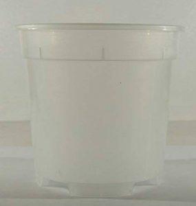 VASE en plastique transparent est idéal pour les orchidées 21 CM de diamètre Lot de 6 pièces de la marque ARCA image 0 produit