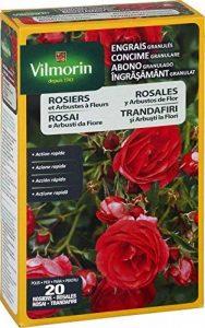 Vilmorin 6428399 Engrais Granules Rosiers et Arbustes à Fleurs Etui de 800 g 4 LG de la marque Vilmorin image 0 produit