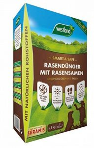 Westland Smart & Safe Engrais à gazon avec graines de gazon 2,8kg de la marque Westland image 0 produit
